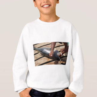 yellow fins tuna sweatshirt