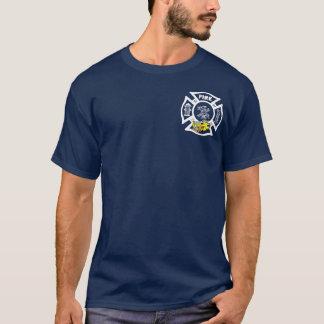 Yellow Fire Truck Rescue T-Shirt