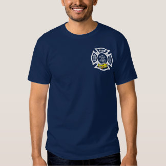 Yellow Fire Truck Rescue Tshirts