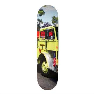 Yellow Fire Truck Skateboard