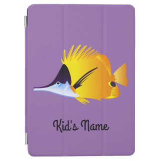 Yellow fish iPad air cover
