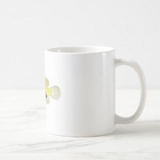 Yellow Fish no.11 Beach Cottage Decor Gift Coffee Mug
