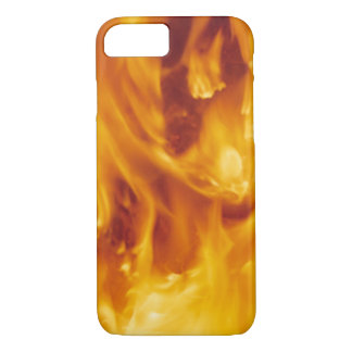 YELLOW FLAMES iPhone 7 CASE