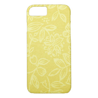 Yellow Floral Cell Phone Case