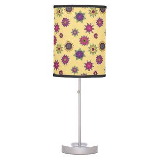Yellow Floral Mandala Lamp Shade