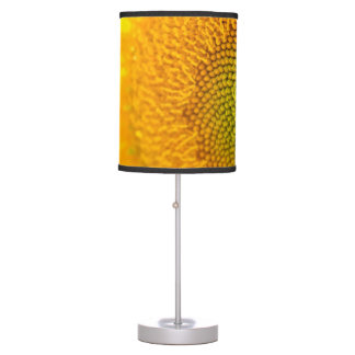Yellow Floral Sunflowers Table Lamp