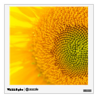 Yellow Floral Sunflowers Wall Decal