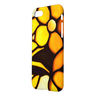 Yellow Floral Tiffany Look iPhone 8/7 Case