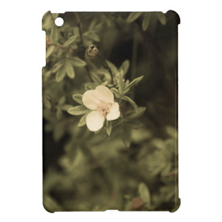 yellow flower aged1 iPad mini cover