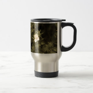yellow flower aged1 travel mug