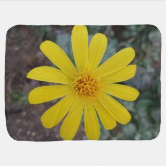 Yellow Flower Baby Blanket