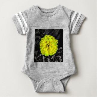 Yellow Flower Baby Bodysuit
