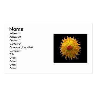 Yellow Flower Business Card