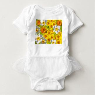 Yellow Flower Graphic Baby Bodysuit