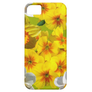 Yellow Flower Graphic Case For The iPhone 5