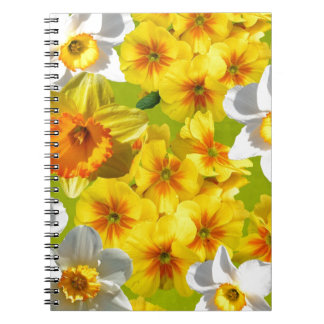 Yellow Flower Graphic Notebooks