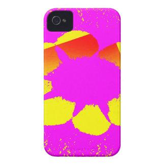 yellow flower iPhone 4 case