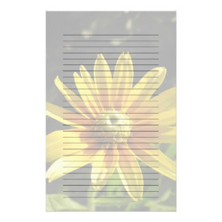Yellow Flower: Irish Eyes II, Lined/Unlined Paper Customized Stationery