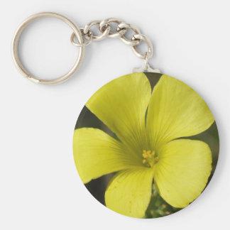 Yellow Flower Keychain