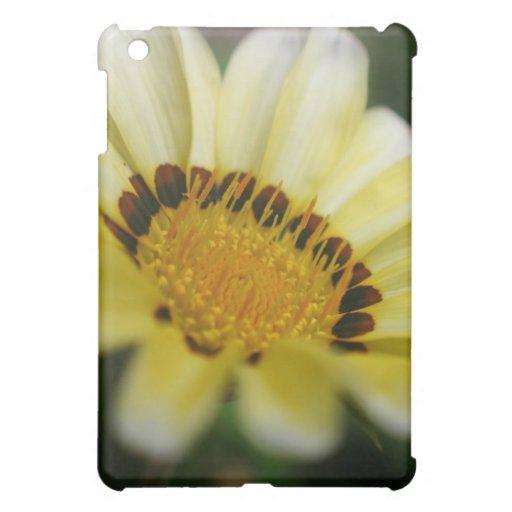 Yellow flower macro photography ipad cases