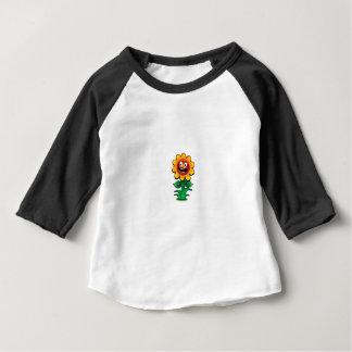yellow flower of smiles baby T-Shirt