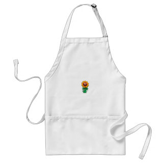 yellow flower of smiles standard apron