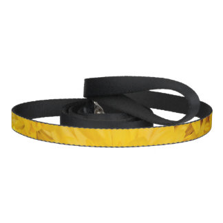 Yellow Flower Pattern Leash