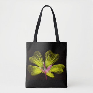 Yellow Flower Power Tote Bag