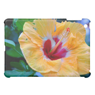 Yellow Flower Red Center Speck iPad Case