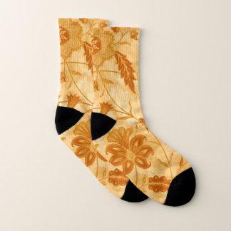 Yellow Flower Socks 1