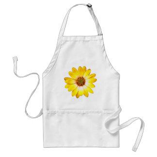 Yellow Flower Standard Apron