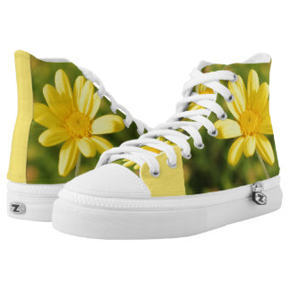 Yellow flower Sunny and Positive Sneakers