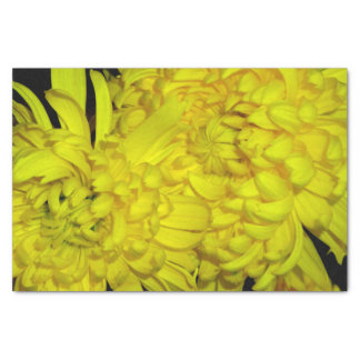 Yellow Flower Tissue Paper