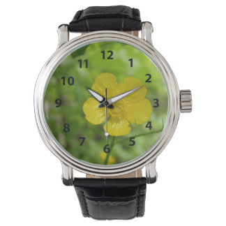 Yellow Flower Watch