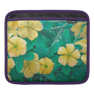 Yellow Flowers at Nature iPad Sleeve