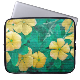 Yellow Flowers at Nature Laptop Sleeve