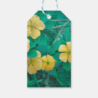 Yellow Flowers at Nature Pack Of Gift Tags