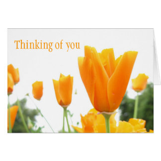 Yellow Flowers Birthmothers' Day card