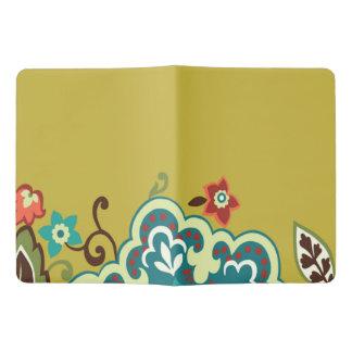 Yellow Flowers Custom Notebook - Extra Large