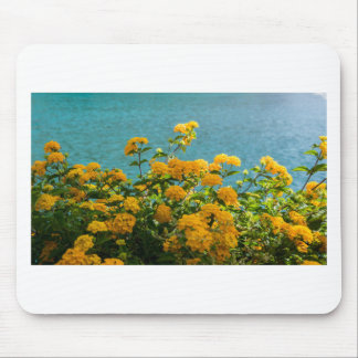 yellow flowers for good mood everyday mouse pad