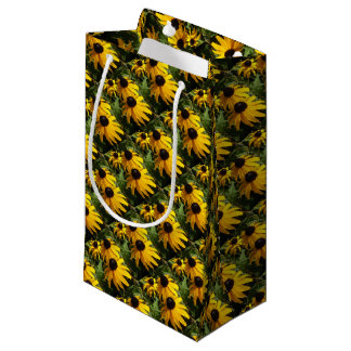 Yellow Flowers Gift Bag