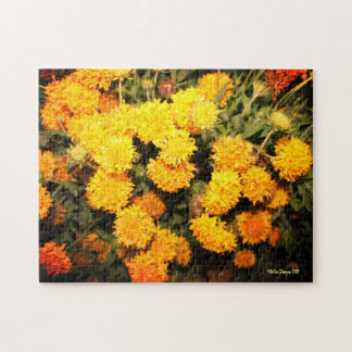 Yellow Flowers Jigsaw Puzzle