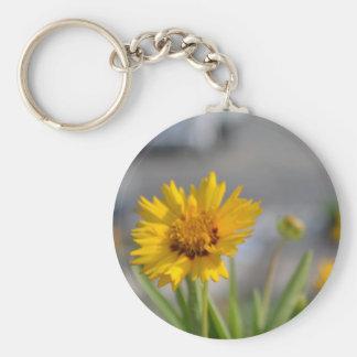Yellow Flowers Keychain
