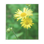 Yellow Flowers Notepads