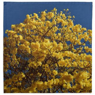 YELLOW FLOWERS QUEENSLAND AUSTRALIA NAPKIN