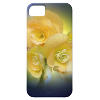 yellow flowers shining iPhone 5 cover