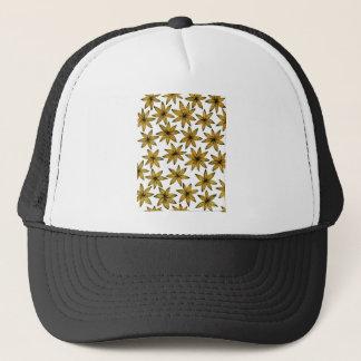 Yellow Flowers Trucker Hat