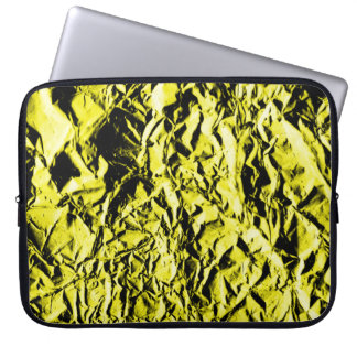 Yellow Foil #2 Laptop Sleeve