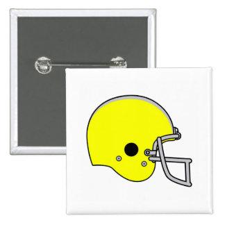 Yellow Football Helmet Pin