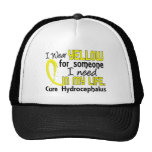Yellow For Someone I Need Hydrocephalus Trucker Hat